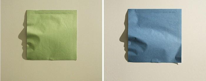 Shadow Portrait – портреты из мятой бумаги от Куми Ямашиты (Kumi Yamashita)