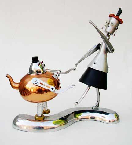 Создание характеров из хлама в творчестве Пола Логриджа