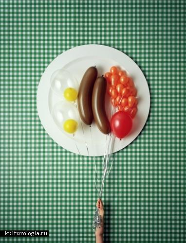 Воздушные блюда от David Sykes.