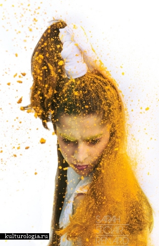 Сумасшедшие эксперименты с пудрой от fashion-фотографа Sarah St. Clair Renard