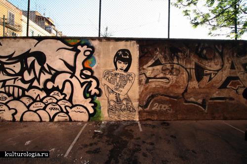Шедевры уличного и городского искусства. часть 1.Hitnes, Lucamaleonte, Murphy, Alt97, Alice