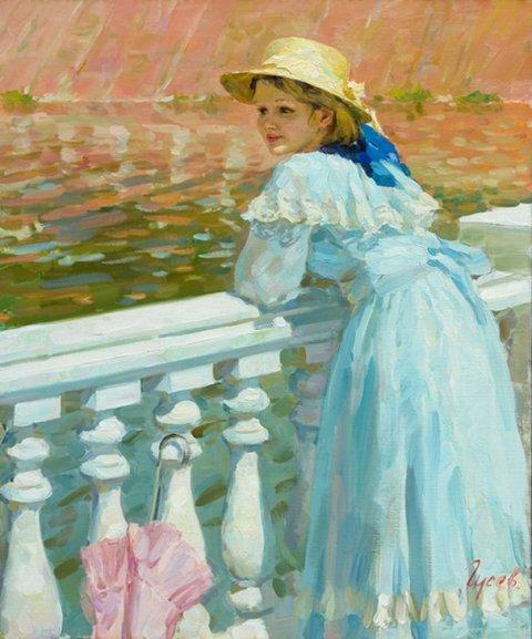 Владимир Гусев - один из талантливейших художников России.