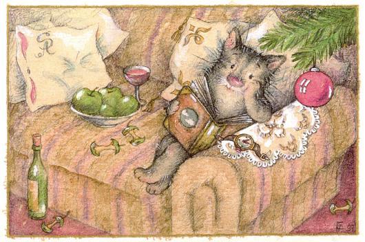 Детские рисунки от Алены Отто-Фрадиной.