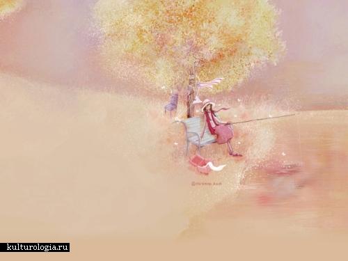 Милые картинки от Christian Asuh.