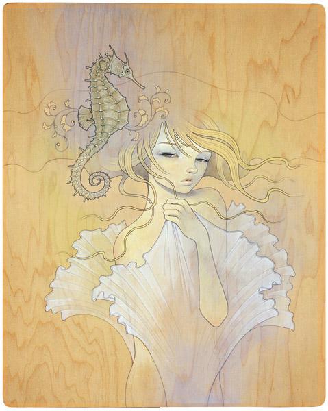 нежные панно от Одри Кавасаки