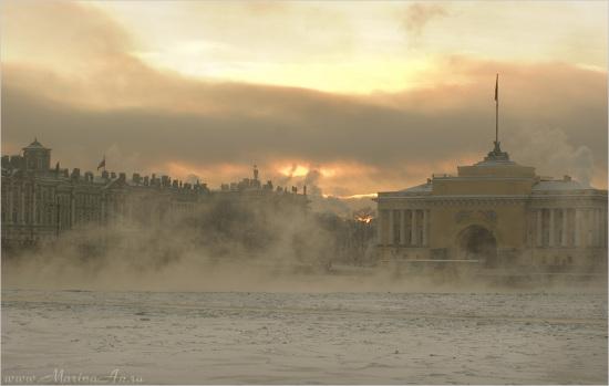 Зимний Петербург глазами фотографа MarinaAn.