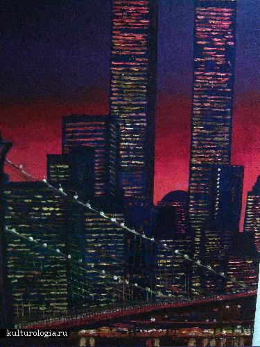 Красота городов масляными красками от  Anita Austwick