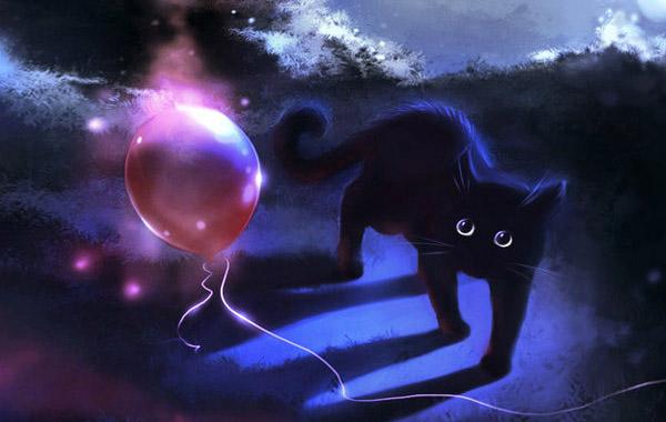 Кошки, которые гуляют сами по себе: рисунки Apofiss.
