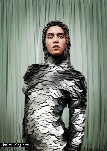 Как рыба в воде: одежда в виде чешуи и водолазных костюмов от Bea Szenfeld