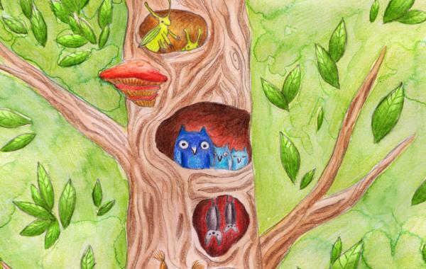 Фантастические образы и рисунки для детей от Cathleen Wolter