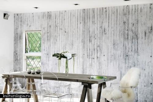 Бетон в твой дом: удивительные обои от норвежских фантазеров