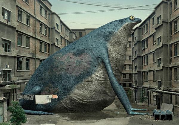 От гигантской жабы будут воистину неподъемные бородавки