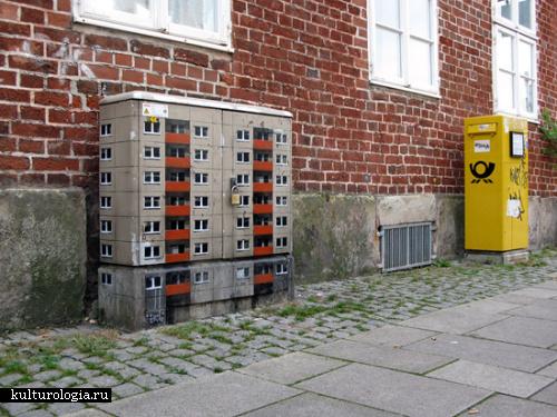 Город в городе: оригинальный street art