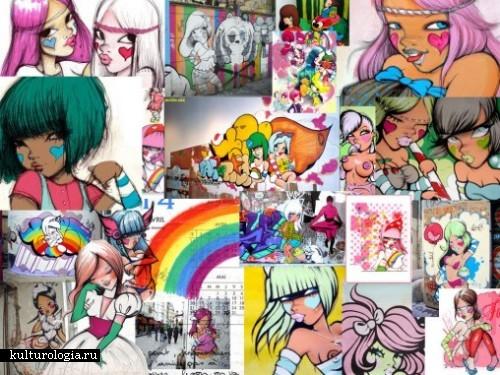 Художница Fafi: от граффити до рисунков на футболках