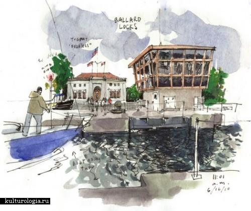 Зарисовки любимых мест родного города от Gabriel Campanario