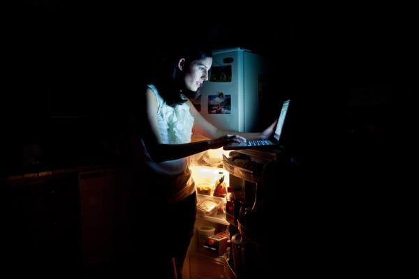 Глубокая ночь, ноутбук и холодильник - типичная картина для многих блоггеров