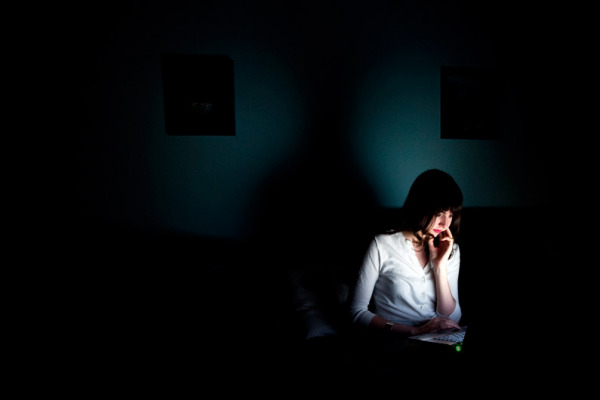 Почти все блоггеры в любят засидеться до глубокой ночи