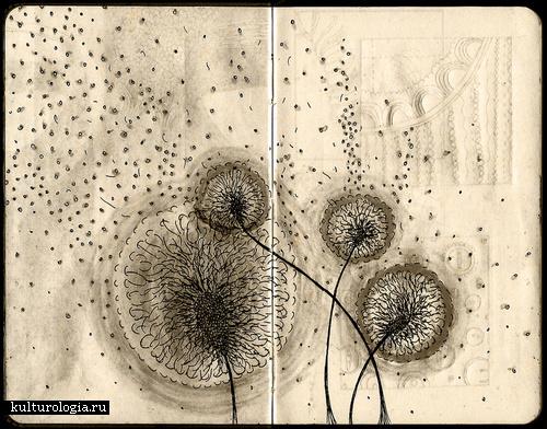 Рисунки на письмах и другие необычные идеи от Gabriella Barouch