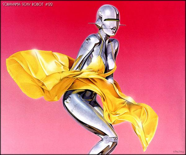 Женщины-роботы: геноид в образе Мерилин Монро