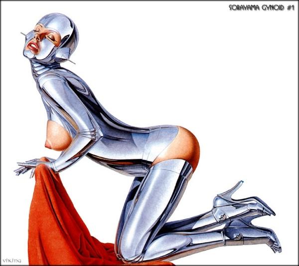 Hajime Sorayama: сексуальный робот