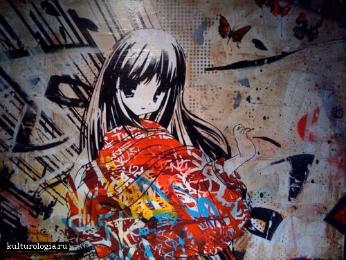 Шедевры уличного и городского искусства. часть 2. Hush