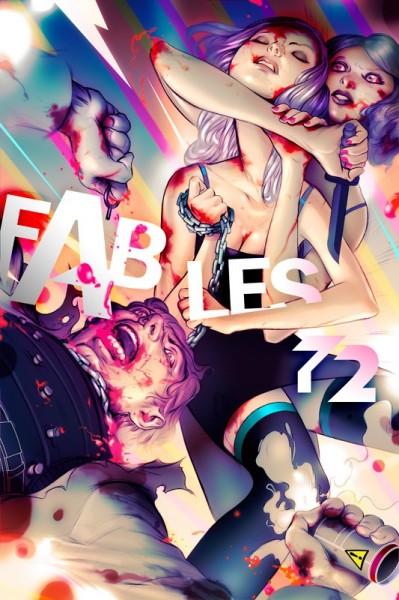 """James Jean: одна из премиальных обложек комикса """"Fables"""