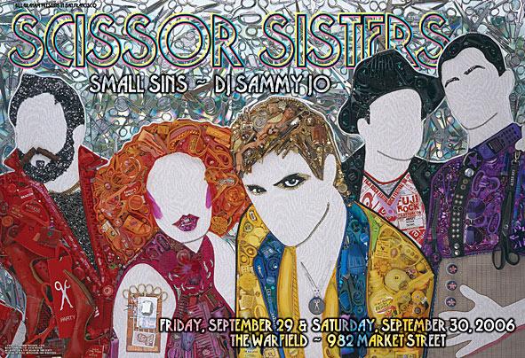 Концепт-постер Scissor Sisters