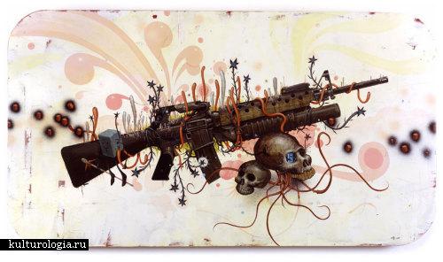 Мрачное будущее всех цветов радуги от Джеффа Сото (Jeff Soto)