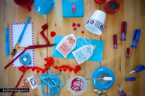 Творческий беспорядок и дивное сочетание цветов от Jennifer Young