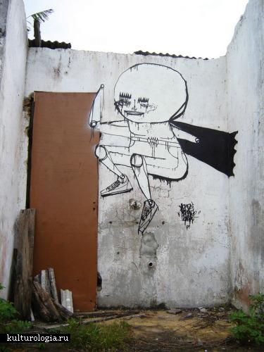 Шедевры уличного и городского искусства. часть 1. Jorge Galvao