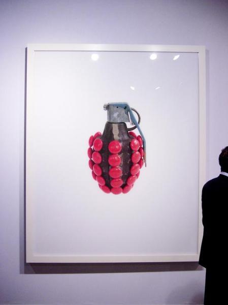 На выставке Kata Legrady