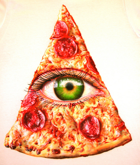 Подбираем пиццу под цвет глаз!