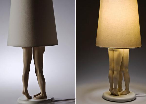 Арт-светильники от Ladislava Repkova: всё для интимной обстановки