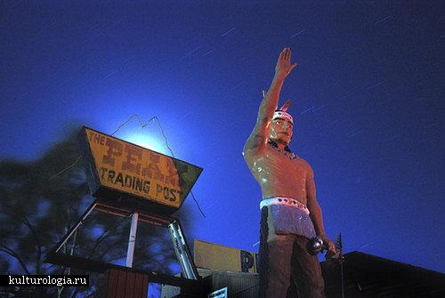 Ночные фото покинутых мест в цикле Lost America