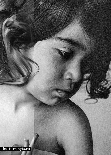 Женская красота в карандаше от Маркоса Рея (Marcos Rey)