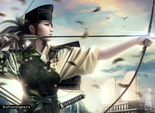 Прекрасные воительницы- героини игр в творчестве  Mario Wibisono