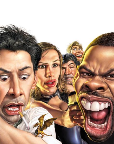 Больше карикатур веселых и концептуальных – творчество Mark Fredrickson