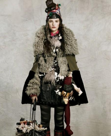 Fashion-фото от Mark Segal: всё своё ношу с собой. Точнее, на себе