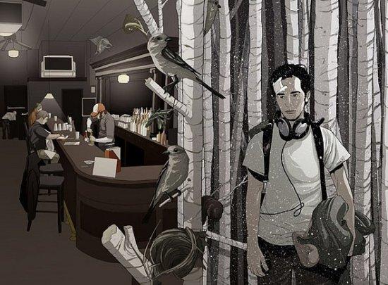 Кусочки анимации от Matthew Woodson