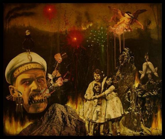 Картины Mia Makila нелогичны, как страшные сны