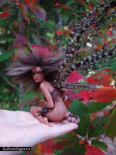 Сказочные персонажи Michelle Bradshaw: меч и магия в миниатюре