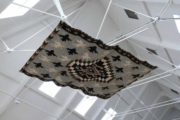 Ковер на потолке, проект *Самолеты и ангелы*