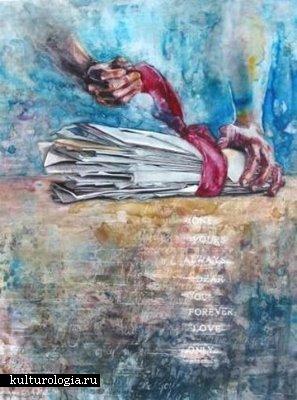 Акварель, пастель и цветные карандаши в одном флаконе: интересные рисунки Molly Brose