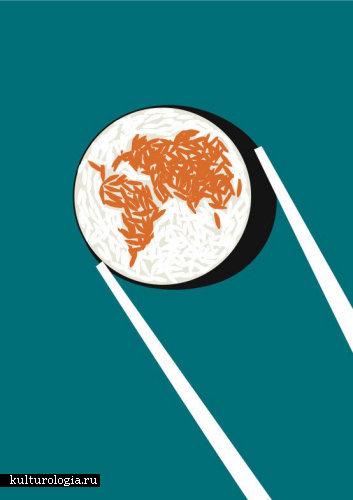 Простота – это страшная сила: иллюстрации Noma Bar