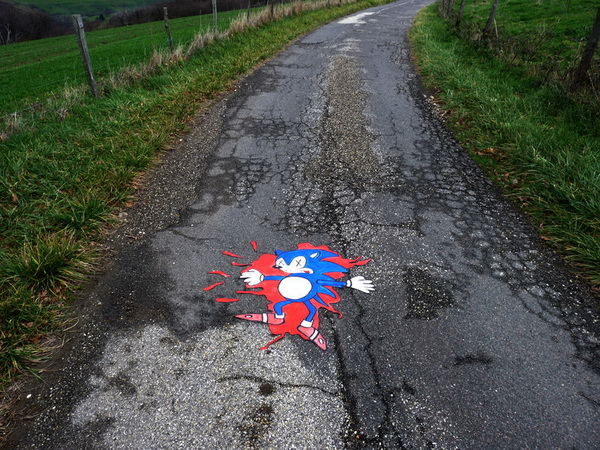 Бедный Sonic the Hedgehog
