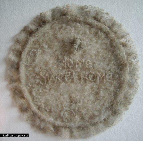 Искусство из домашней пыли Пола Хазэлтона (Paul Hazelton)
