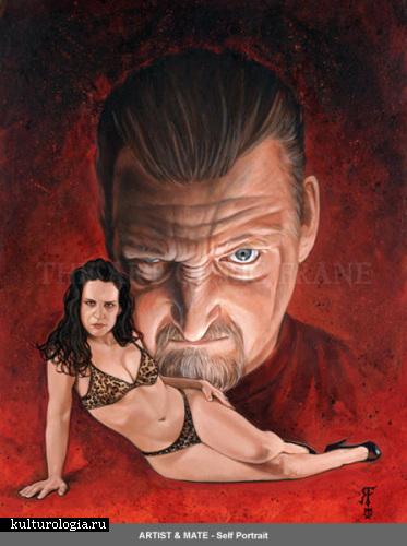 Красавицы и чудовища в картинах Рика Фрейна (Ric Frane)