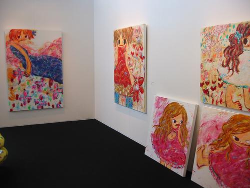 На одной из выставок