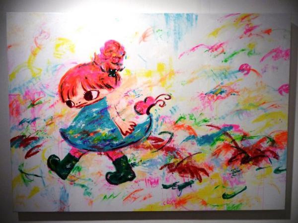 Яркий мир, написанный руками на картоне, бумаге,холсте: творчество японской художницы Ayako Rokkaku