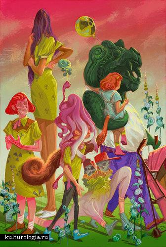 Собственные лукоморье и воображляндия в творчестве Рональда Куниавана (Ronald Kurniawan)